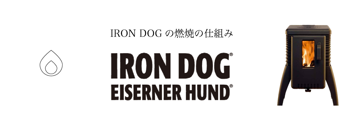 IRON DOGの燃焼のしくみ