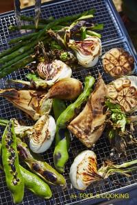 BBQでつくる春野菜のグリル