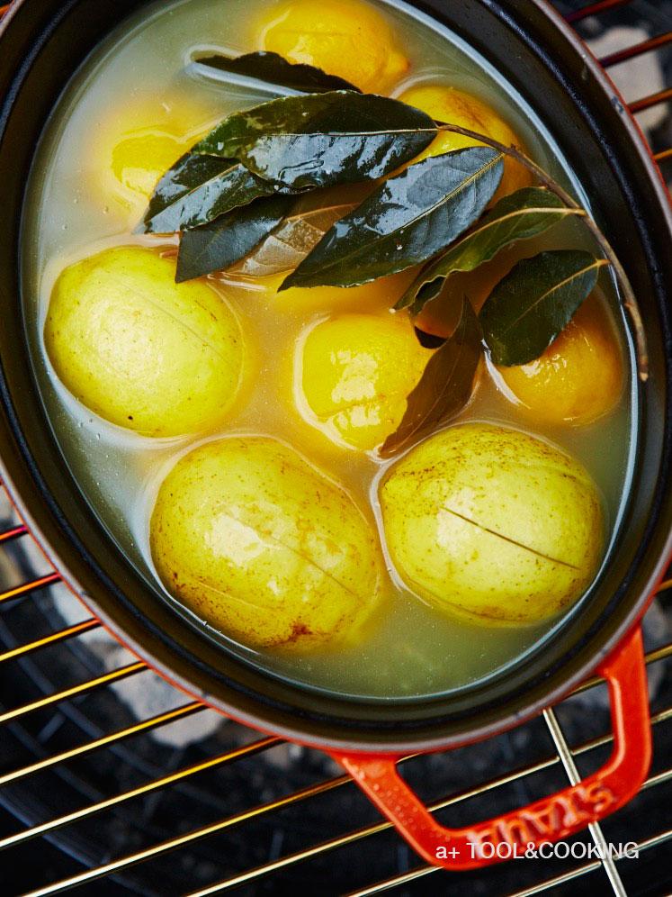 ストウブ鍋でつくる塩レモン