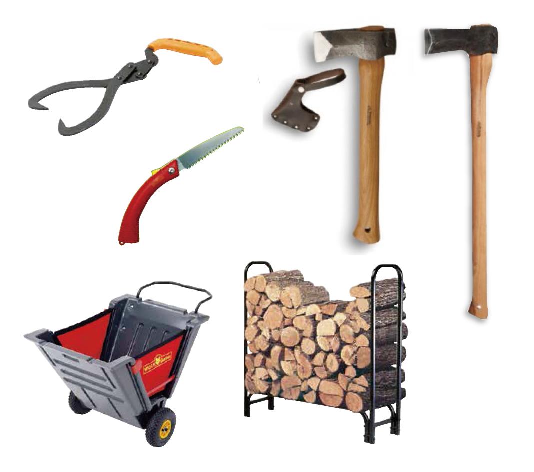 薪づくりの道具