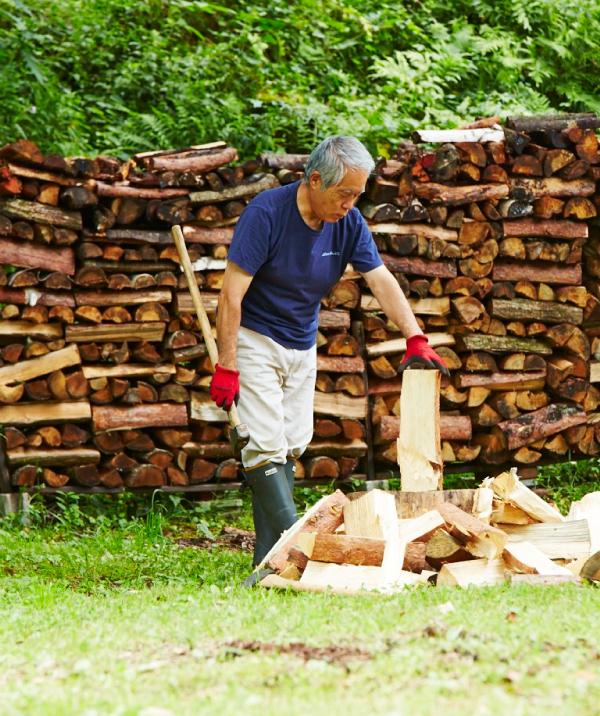 薪の割り方