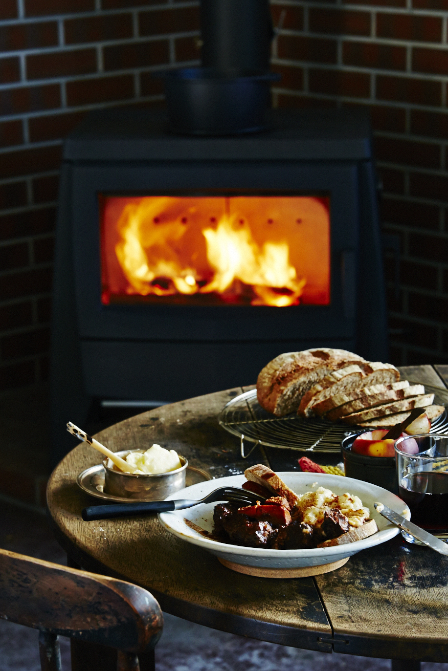 料理で楽しみながら暖まる