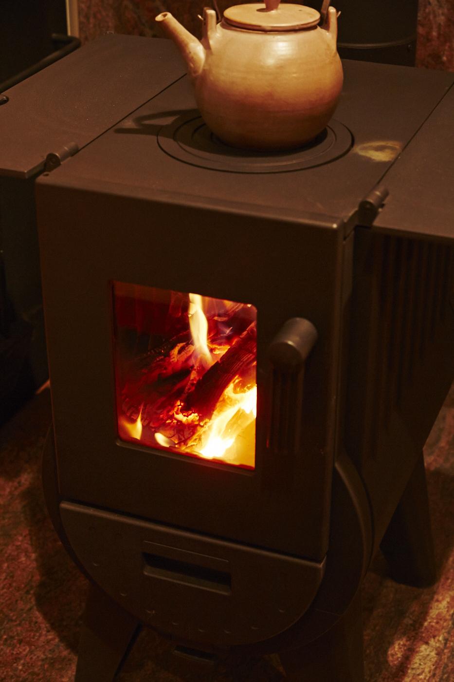 炎の揺らぎは心も暖める